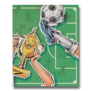 Fotbollsboken - personlig bok med namn