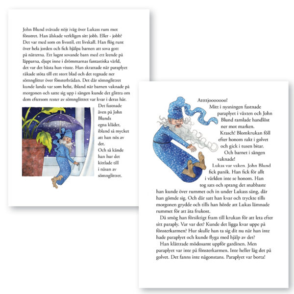 Min Godnattbok – Det magiska paraplyet 4