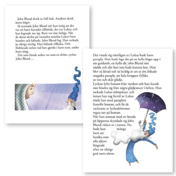 Min Godnattbok – Det magiska paraplyet 7