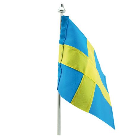 Bordsflagga – Svenska