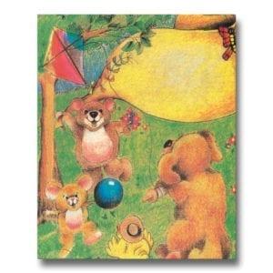 Djurens Sagoland - en personlig barnbok med namn