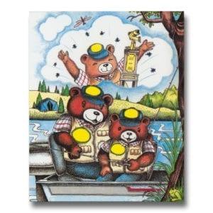 Fiskeboken - personlig barnbok med namn