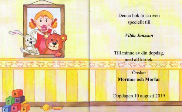 Babyboken flicka 1