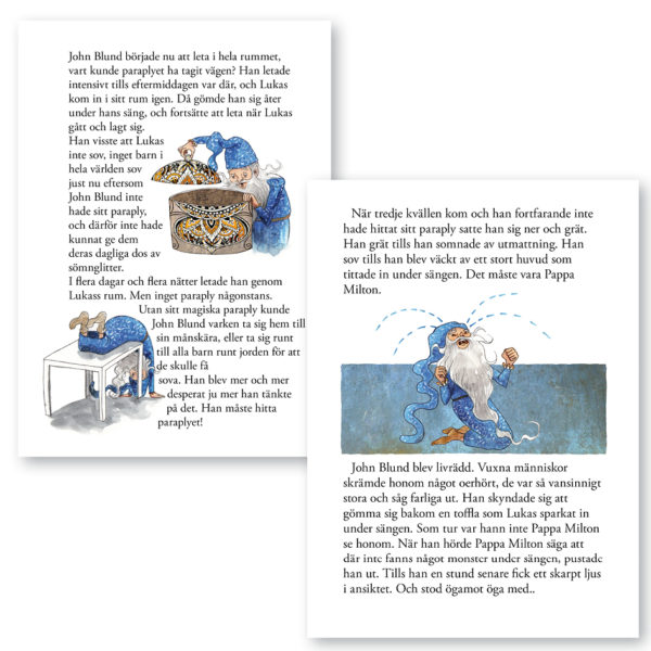 Min Godnattbok – Det magiska paraplyet 6