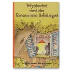 Mysteriet med det försvunna örhånaget - barnbok