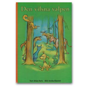 Den vilsna valpen - en personlig barnbok