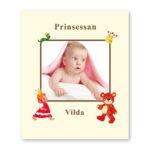 Babyboken Flicka fotosida
