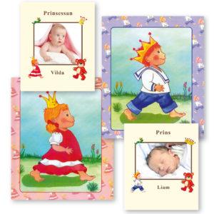 Babyboken - Tvillingar med foto