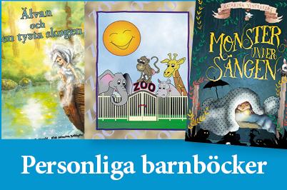 Personliga barnböcker med namn - Unikabarn