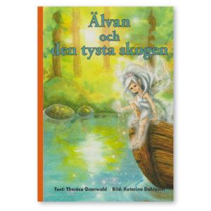 älvan och den tysta skogen - personlig bok med namn