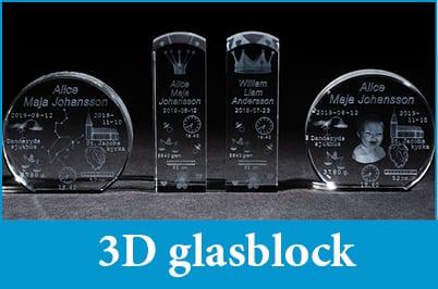 3D glasblock - unikabarn.se
